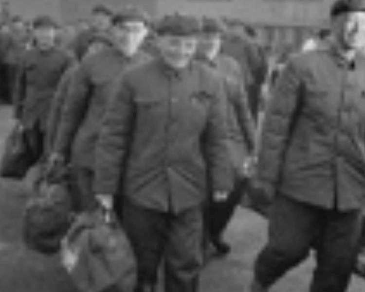 1975年中共最後一批釋放的戰犯。(作者提供)