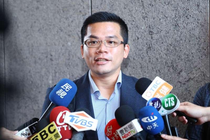 20190617-台中市新聞局長吳皇昇表示,台中市長盧秀燕基於黨內初選公平原則,為不傷害支持者的感情,都不幫忙站台。(台中市政府提供)