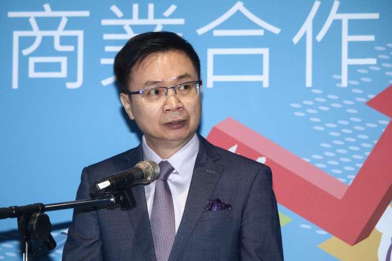 20190618-外貿協會董事長黃志芳18日出席「深化印太地區經濟與商業合作論壇」。(蔡親傑攝)