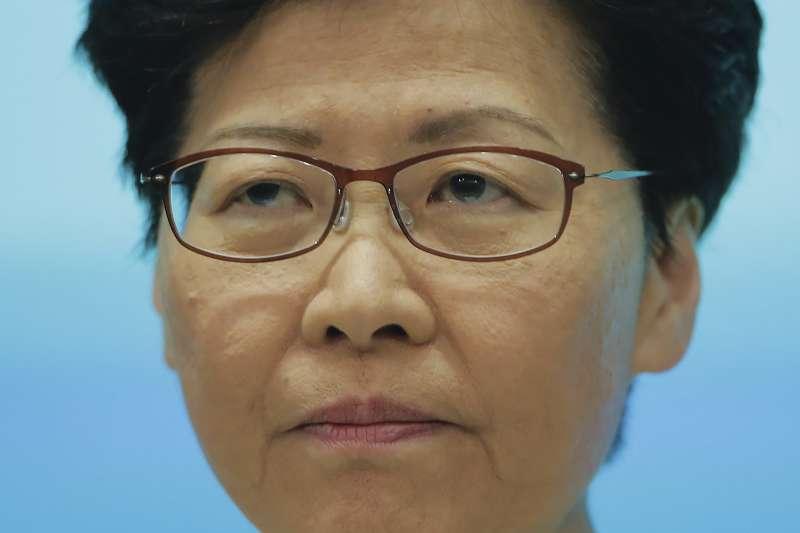 2019年6月18日,香港特首林鄭月娥再度舉行記者會道歉(AP)