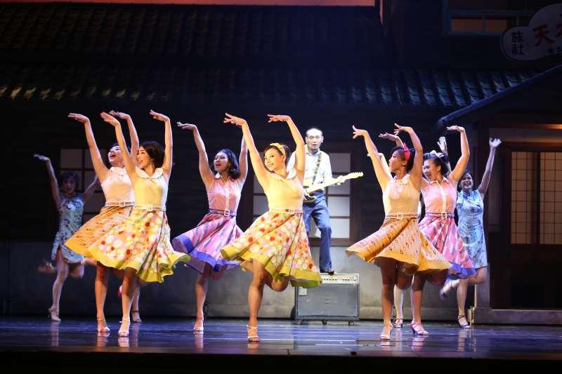 20190618-音樂劇《再會吧北投》由吳念真編導,今年再度推出PLUS版本,從編舞、音樂、排戲通通都重新編排,誓言要帶給觀眾與全然不同的視聽饗宴。(綠光劇團提供)