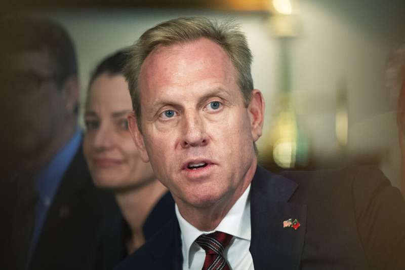 美國國防部代理部長夏納翰18日主動退出國防部長提名。(AP)