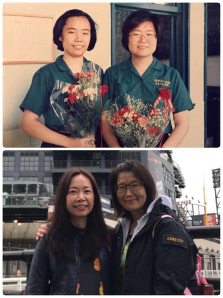 32年過去了我們沒變從台北到舊金山。(圖/作者提供)