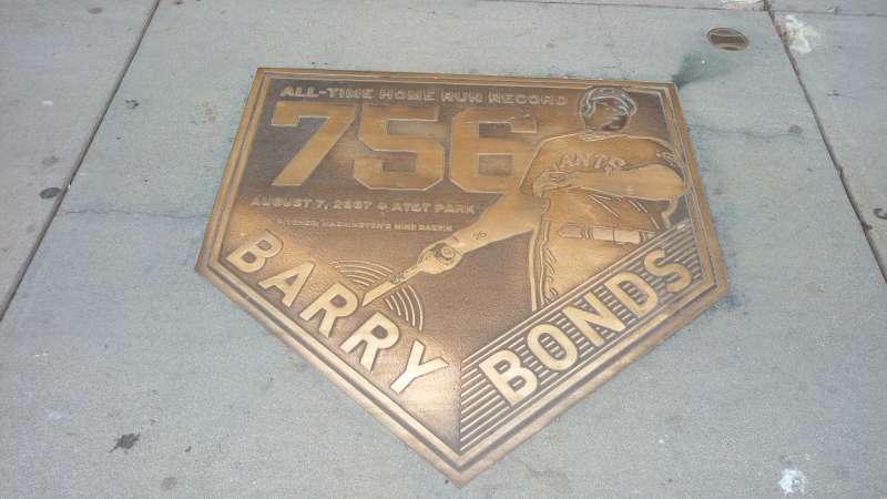 2007年8月7日Bonds轟出史上最多的756支全壘打。(圖/作者提供)