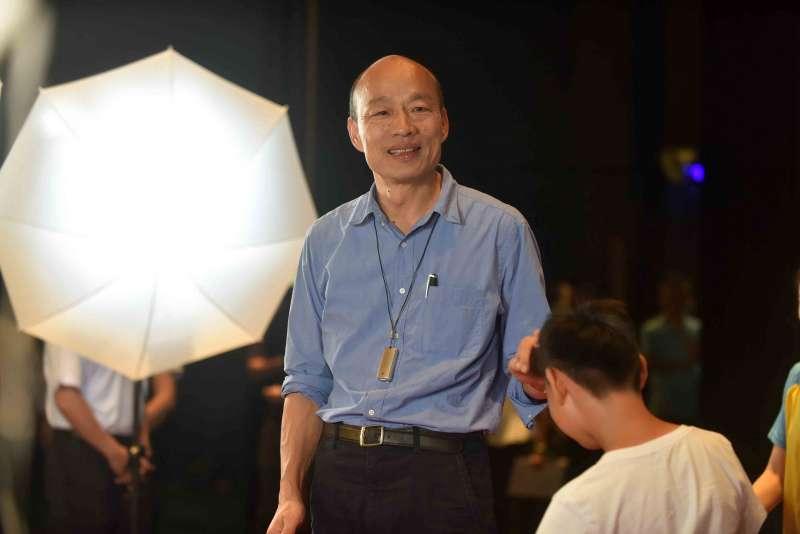 20190619-高雄市長韓國瑜出席高雄市模範生及畢業生合影活動。(高雄市府提供)