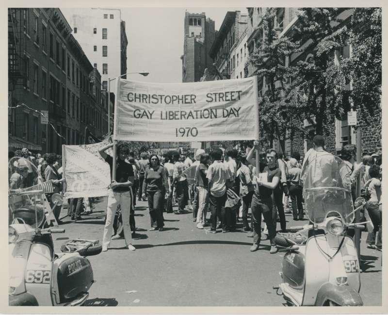 1970年,史上第一屆同志驕傲遊行(Pride Parade)在紐約登場。(美聯社)