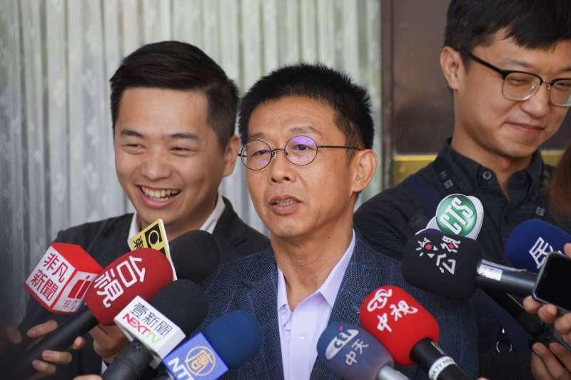 20190625-立委許智傑受訪。(盧逸峰攝)