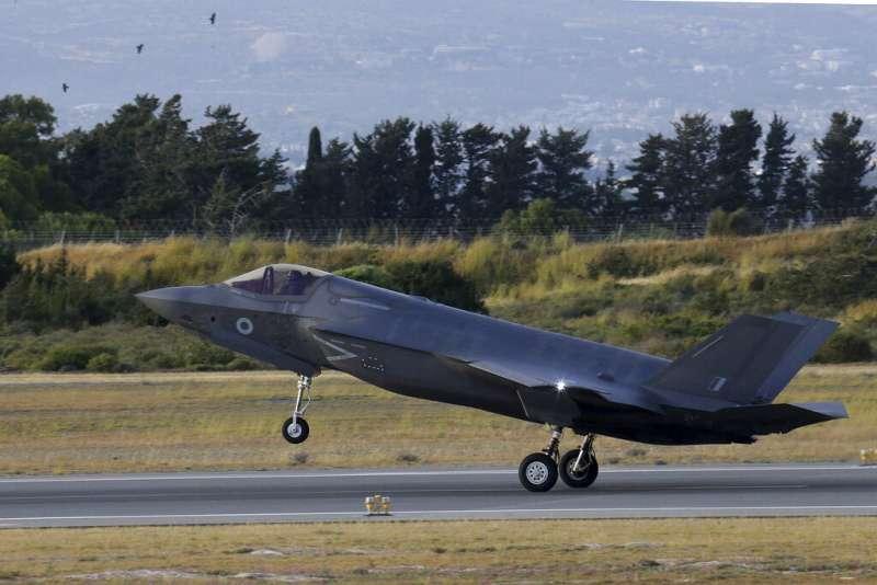 F-35。(美聯社)