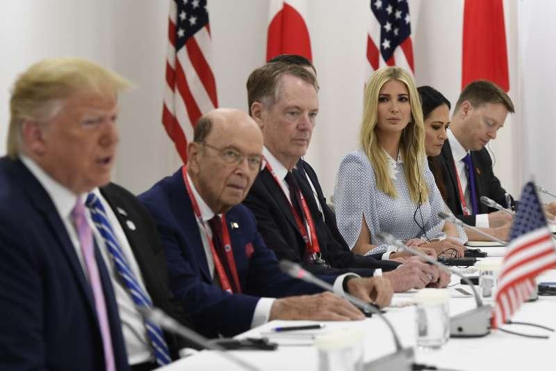 中美貿易戰,2019年6月29日,G20大阪川習會(AP)
