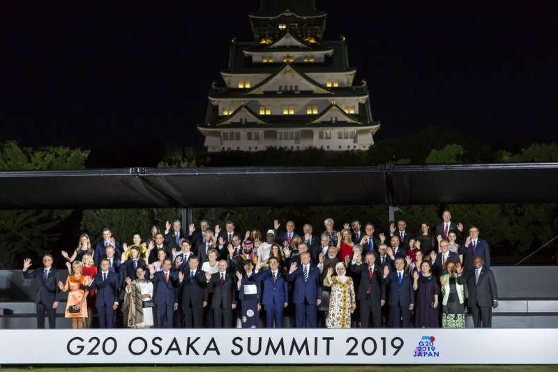 G20大阪峰會。(美聯社)
