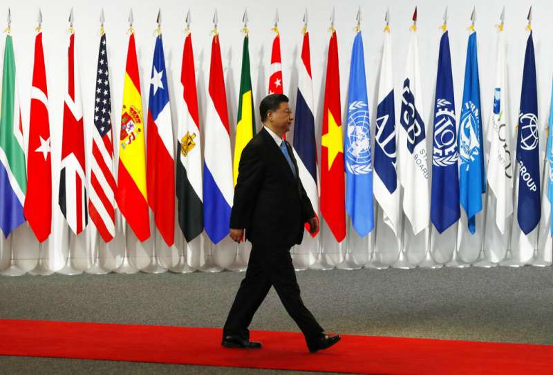 習近平,G20大阪峰會。(美聯社)