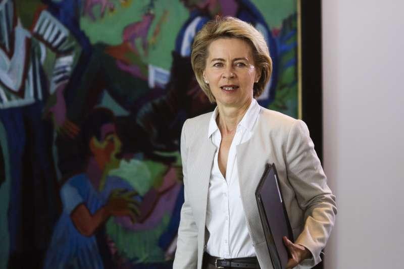 德國國防部長馮德萊恩被提名出任歐盟執委會主席,將成為史上首位女性歐盟執委會主席(美聯社)