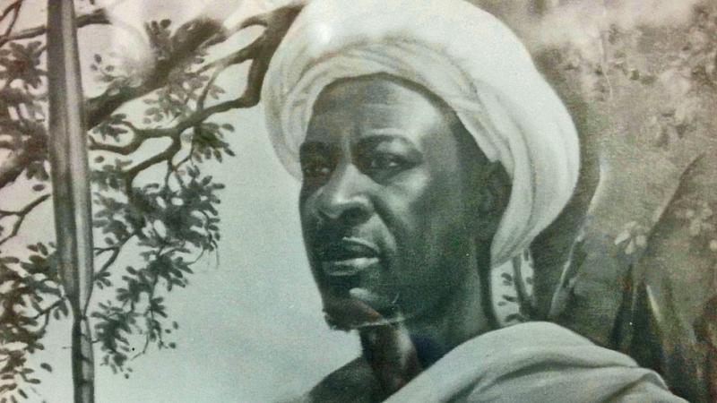 坦桑尼亞瓦赫赫部落酋長姆克瓦瓦率領民眾抗擊德國殖民者,最後被出賣,在德軍包圍下自盡。(圖/National Archives)