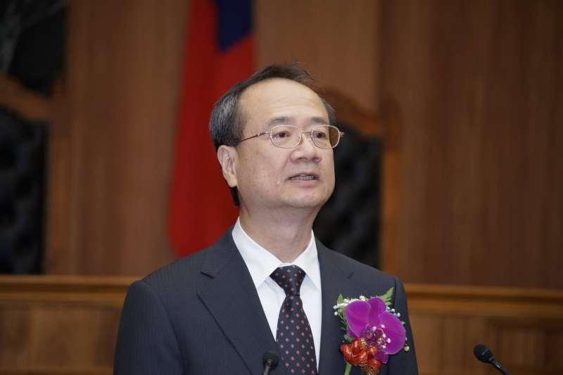 20190704-最高法院大法庭揭牌典禮,司法院長許宗力出席。(盧逸峰攝)