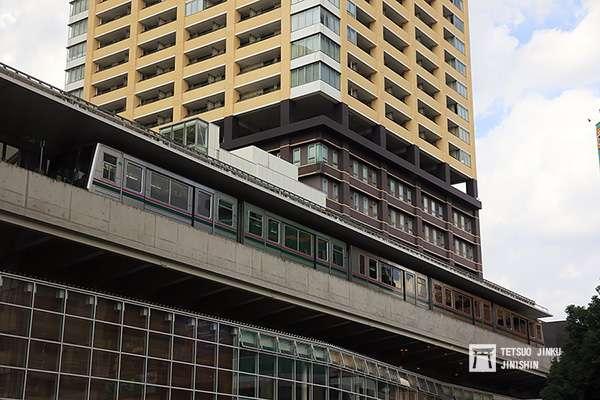 隸屬東京都交通局的「日暮里.舍人線」,2008年完工通車,是日本目前最新的中運量系統。(圖/陳威臣攝,想想論壇提供)