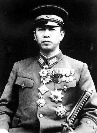 服部卓四郎,為戰爭末期中國戰場「一號作戰(又稱「大陸打通作戰」,中方稱之「豫湘桂會戰」)」的計畫主導者。(賈忠偉提供)