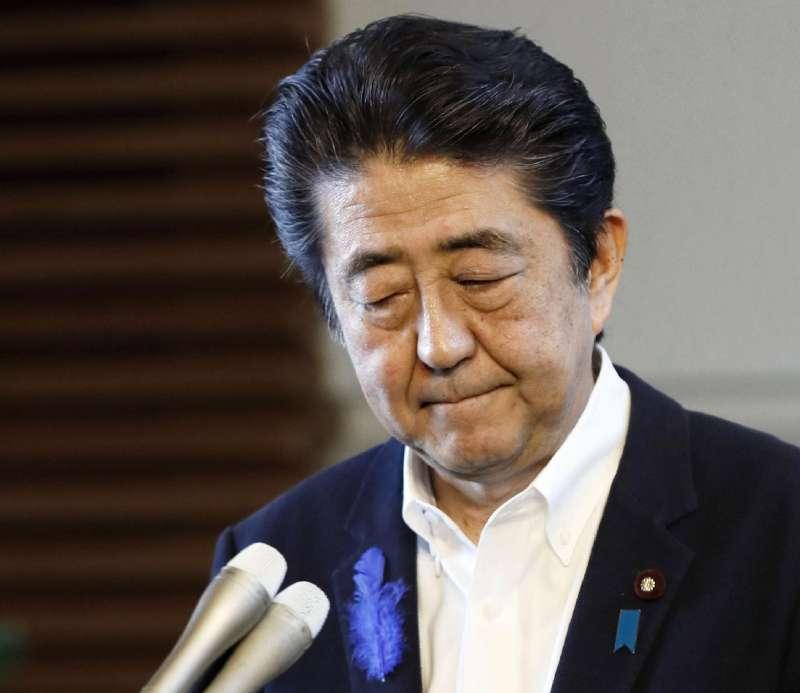 2019年7月9日,日本首相安倍晉三宣布政府放棄對漢生病患家屬國賠案提出上訴。(AP)