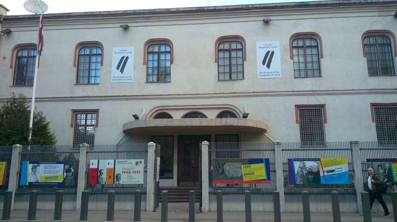 拉脫維亞佔領時期博物館。(圖/謝幸吟提供)