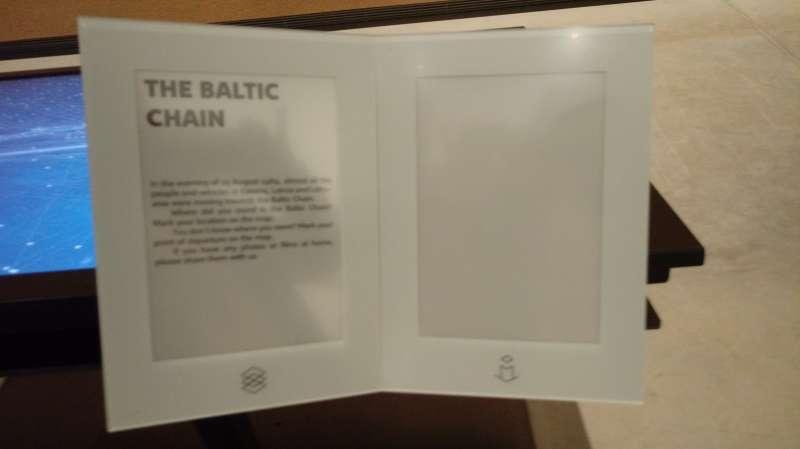愛沙尼亞國家博物館文資--823波海之鏈。(圖/謝幸吟提供)