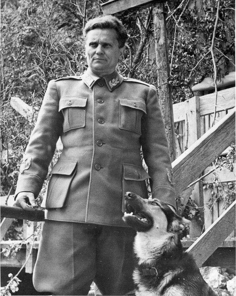 南斯拉夫共產革命之父狄托,他被西方自由派與第三世界國家公認為敢同時對美蘇強權說不的英雄,這個地位是蔣中正所沒有的。(許劍虹提供)