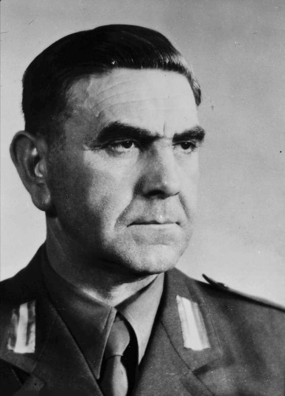 克羅埃西亞極右翼團體烏斯塔沙領袖帕維里奇(Ante Pavelic),是一個在西方世界比希特勒還要聲名狼藉的種族主義者,但卻被許多克羅埃西亞民族主義者視為國父。(許劍虹提供)
