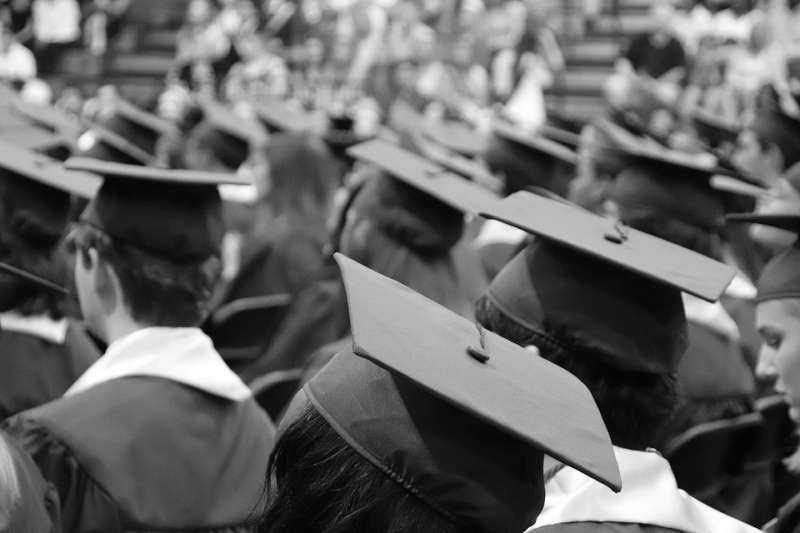 20190711-畢業、畢業生、畢業典禮、職涯。示意圖。(取自McElspeth@pixabay/CC0)