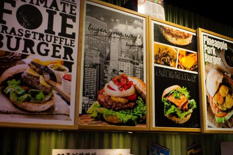 Burger Ray 個性漢堡(圖/葉滕騏攝)