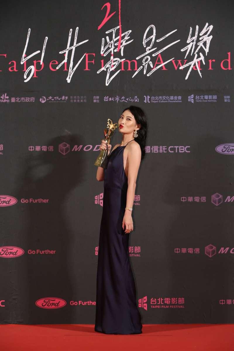 20190713-第21屆台北電影節最佳女主角獎:《野雀之詩》李亦捷。(台北電影節提供)