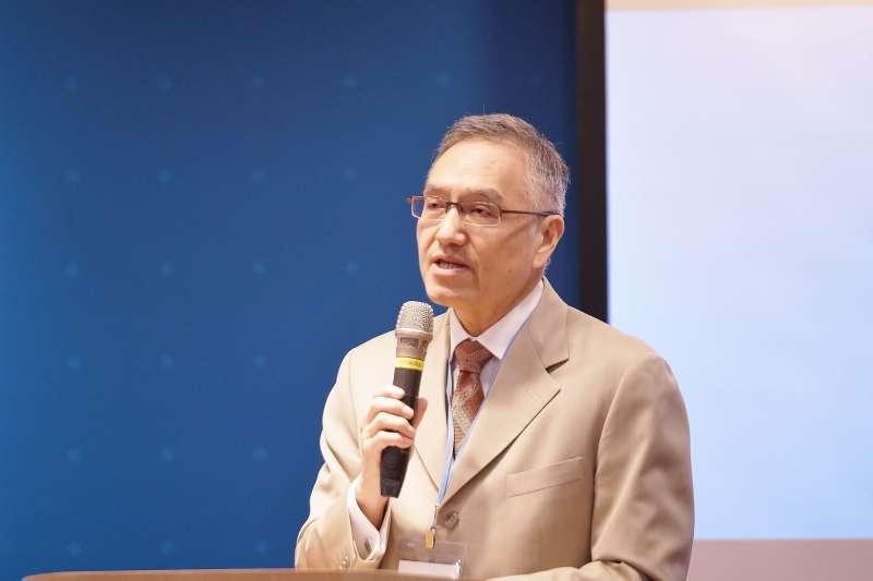 20190714-長風基金會我們與民主的距離研討會,中研院院士朱雲漢出席。(盧逸峰攝)
