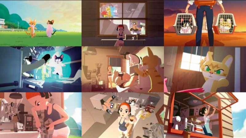 五月天〈瘋狂世界〉新編曲並製作動畫版 MV(圖/大貓工作室)