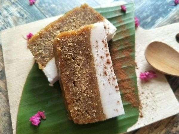 印尼人不僅會用樹薯的根莖做各樣糕點、美食,還會利用樹薯嫩葉煮蔬菜咖哩,口感十分好吃。(圖/劉明芳提供)