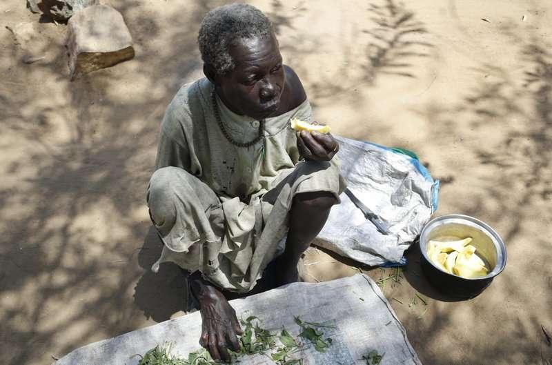 聯合國發布2019年「世界糧食安全和營養狀況」報告指出,2018年全球有超過8.2億的人口過著挨餓的日子(美聯社)