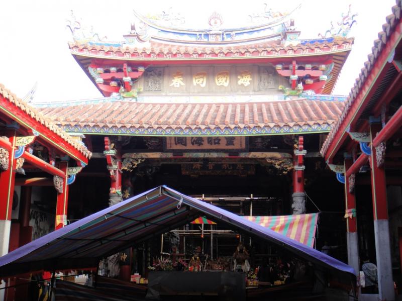 台南大天后宮,全台最早由官方興建、且列入官方祀典的媽祖廟。(圖/Will Lu攝,想想論壇提供)