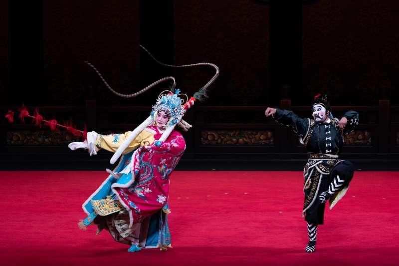 20190717-《昭君出塞》是文戲武唱的尚派經典劇目。(國光劇團提供)