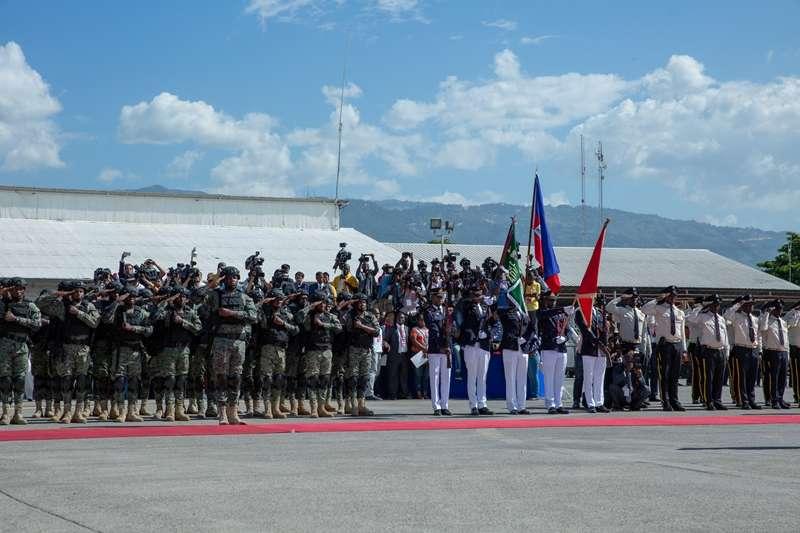 總統蔡英文出訪海地。(取自總統府Flickr)
