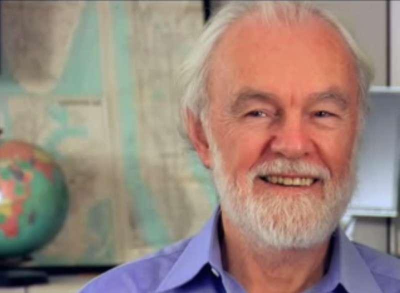 當代著名馬克思主義地理學者大衛.哈維(David Harvey)。(取自維基百科)