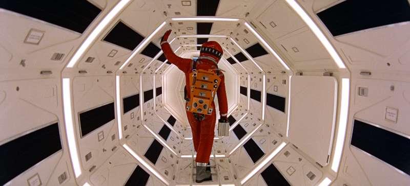 太空探險多年來一直是人類最愛的科幻題材,圖為1961年電影《2001太空漫遊》劇照。(AP)