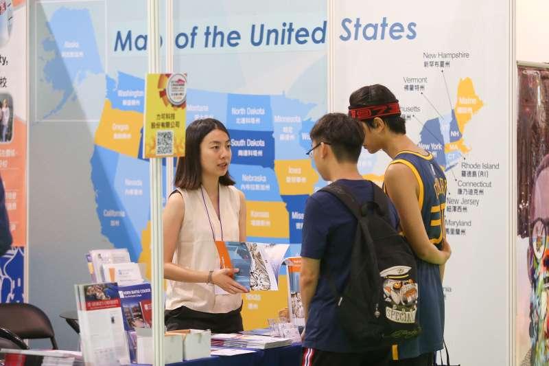 20190720-2019大學博覽會,美國留學。(顏麟宇攝)