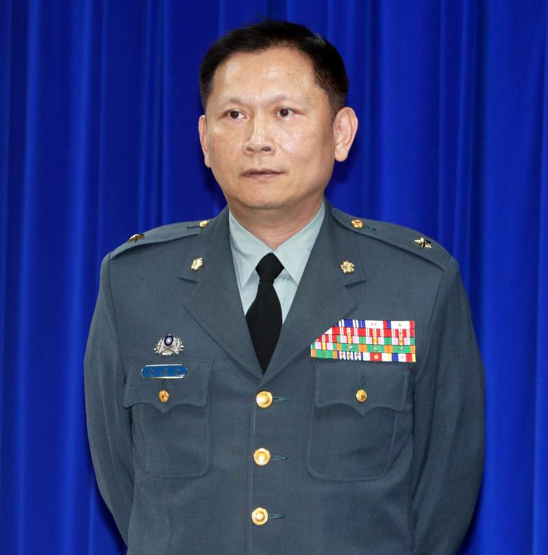 20190723-國防部發言人史順文。(蘇仲泓攝)