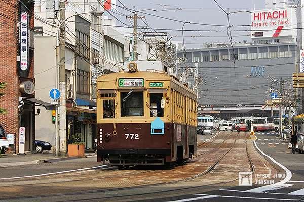 接收自大阪市電的772號車,在2015年7月,讓渡給緬甸鐵路局,在異國展開第二春。(圖/作者提供)