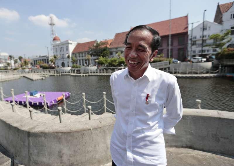 印尼總統佐科威表示,未來5年沒有政治包袱,將加快改革速度(美聯社)