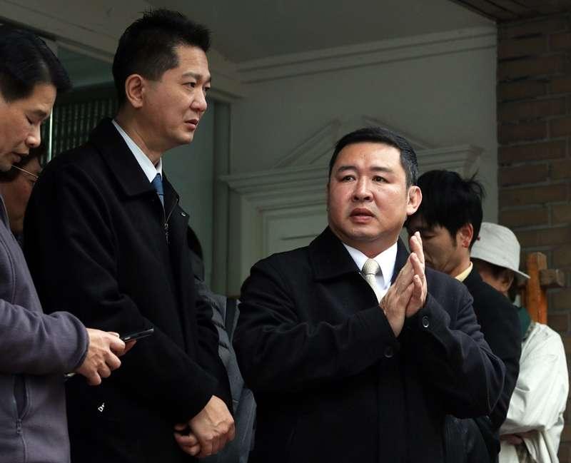 20190728-總統府侍衛室警衛主任陳逸夫少將(左)、永和警衛室主任林國欽少將(右)在這次都因為負有直接督導責任而被記一大過處分。(蘇仲泓攝)