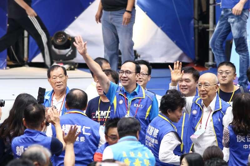 20190728-國民黨第20屆第3次全國代表大會,前新北市長朱立倫。(陳品佑攝)