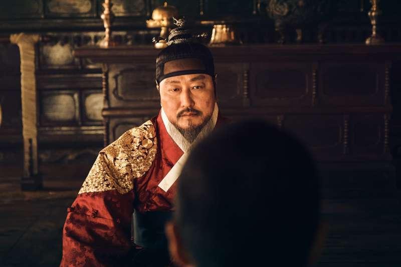 這次是宋康昊第二次飾演君王(圖/采昌提供)