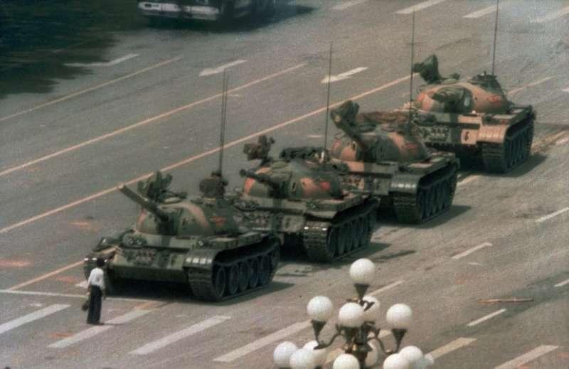 黃崎創立的「六四天網」取名來自1989年六四天安門慘案。(圖/美聯社)