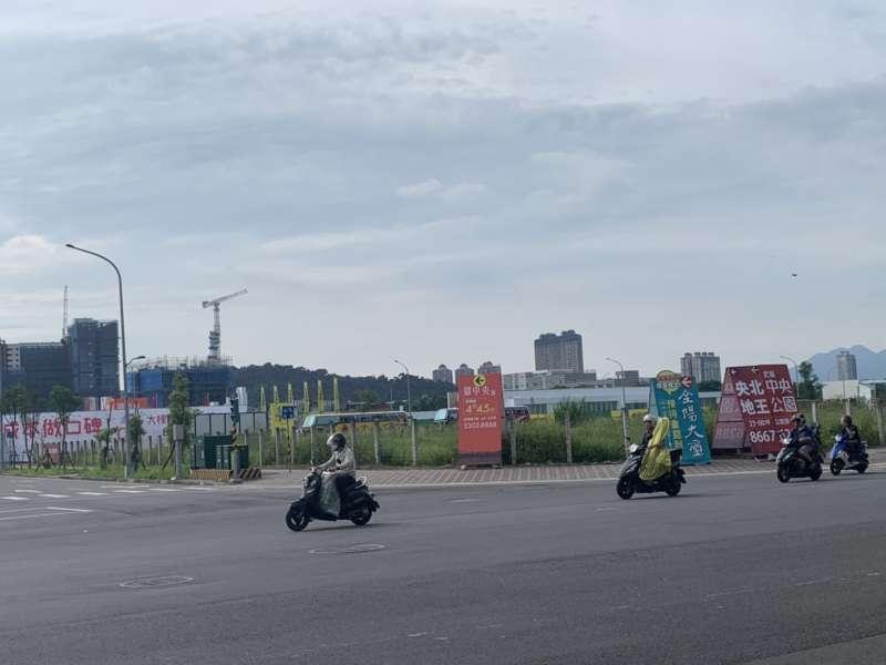 新店央北重劃區熱度高,狂吸建商出手搶地。(圖/科達機構提供)