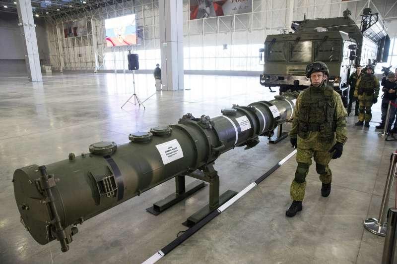 俄羅斯最近承認擁有「Novator 9M729」,一種陸基巡弋飛彈,估計在500至5500公里之內。(AP)
