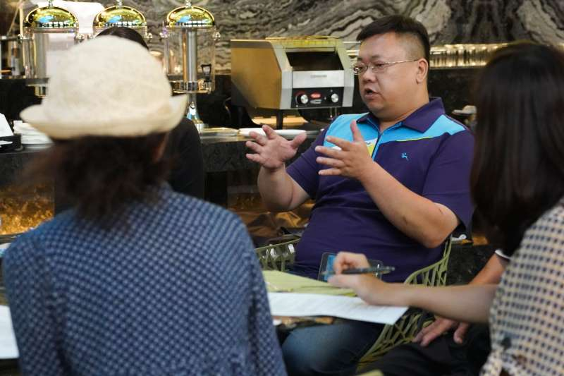 花蓮玉溪地區農會總幹事蔡宗翰表示,本次金針花產地餐桌計畫中所引發的互動,是本次合作最珍貴的效益。(圖/玉溪地區農會提供)