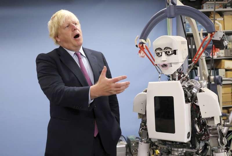 人機合一的世界,在科技發展下即將實現。(AP)