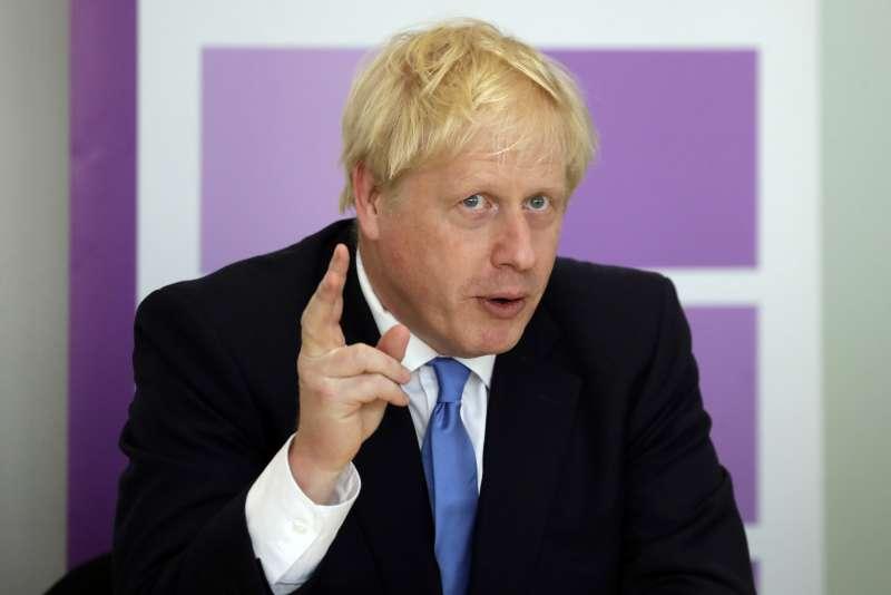 英國首相強森(Boris Johnson)(AP)